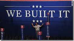we built it